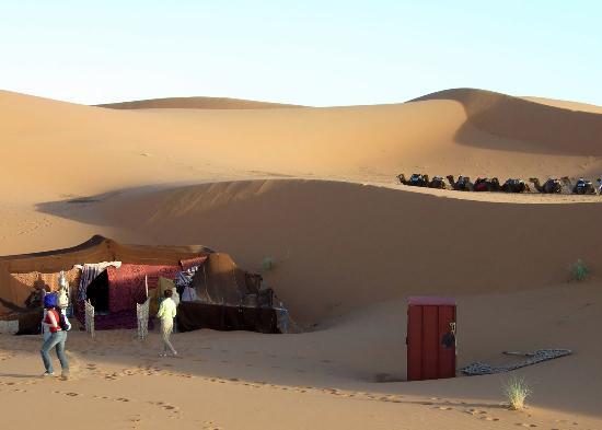 Hotel Kasbah Mohayut : Berber camp
