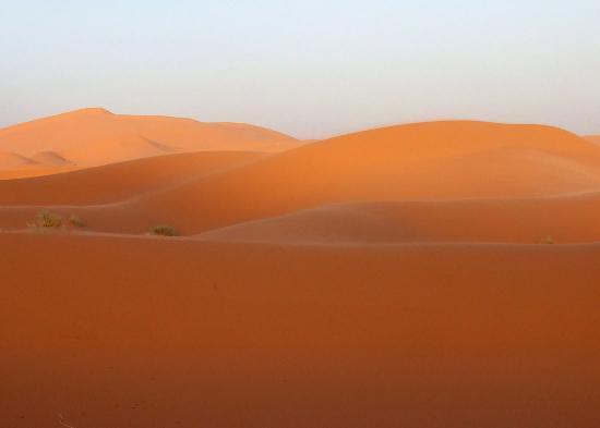 Hotel Kasbah Mohayut : Dunes, sunset