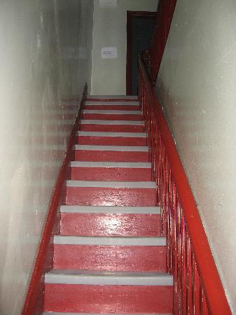 Chelsea International Hostel: stairway to rooms