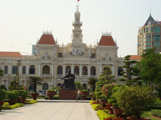 Ho-Chi-Minh-Stadt abseits des Rummels