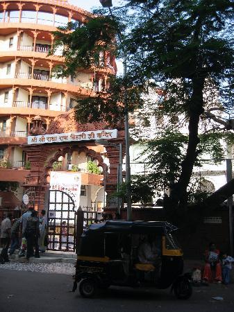 Iskcon, Hare Krishna Complex: street