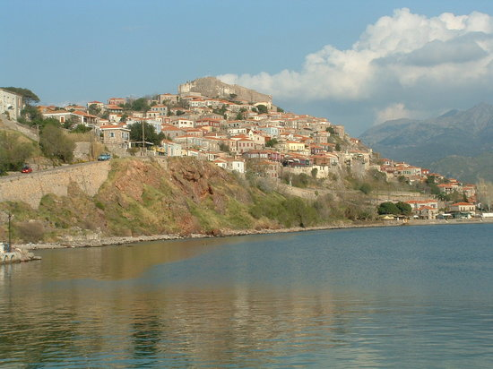 Lesbos, Greece: Beautiful Molyvos- March 08