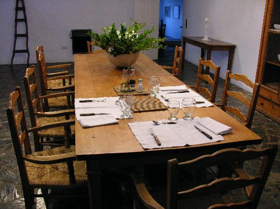 El Metejon Campo Privado: Dining