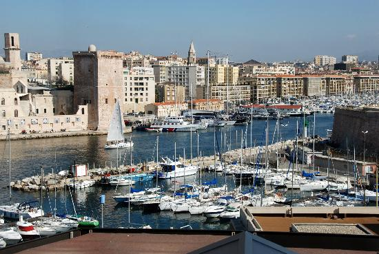 Novotel Marseille Vieux Port : View from the room