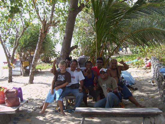 Melasti Legian Beach Resort & Spa: friends on the beach