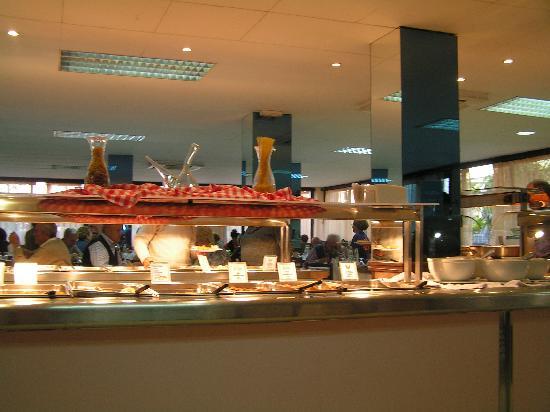 H·TOP Palm Beach & SPA: Buffet Area