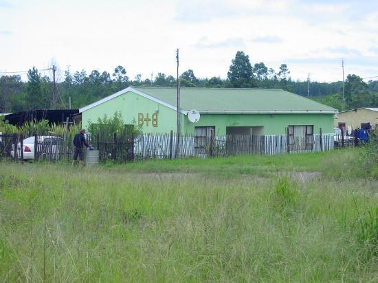 Tsalanang Township B&B: The b&b from the outside