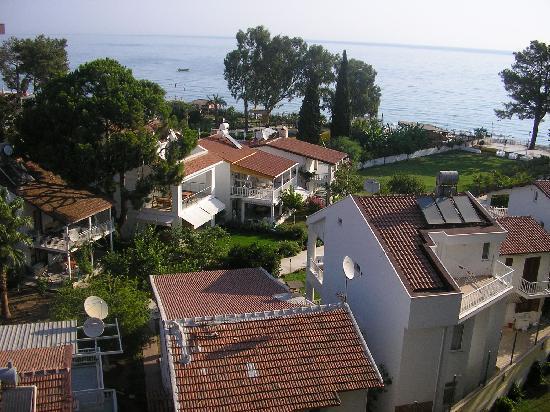 Barut Kemer : View from balcony