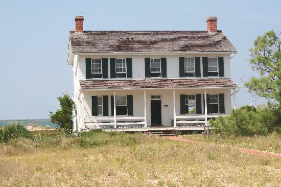 Cape Lookout National Seashore: Keeper's Quarters at Cape Lookout