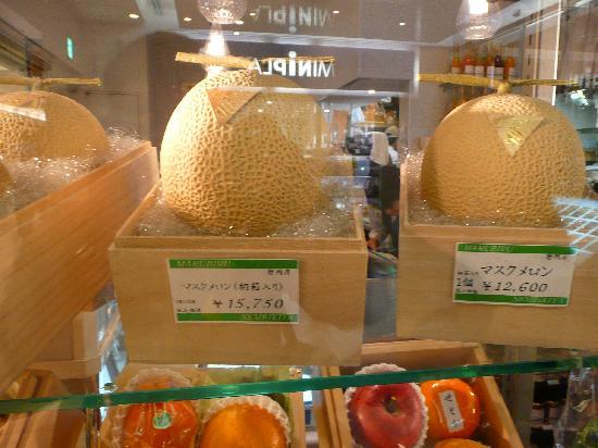 Tokio, Japón: Precio de un melón