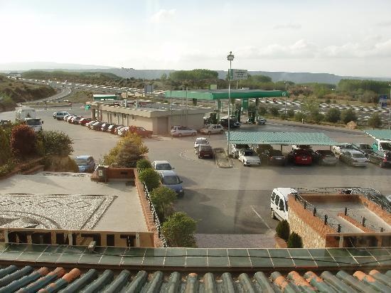 Hotel Abades Guadix: Vue depuis la chambre