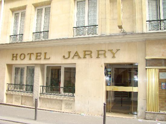 Foto de jarry hotel par s hotel entrance tripadvisor for Paris hotel address