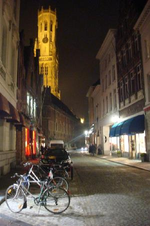 Hotel Ter Duinen: The backstreets have excellent restaurants everywhere
