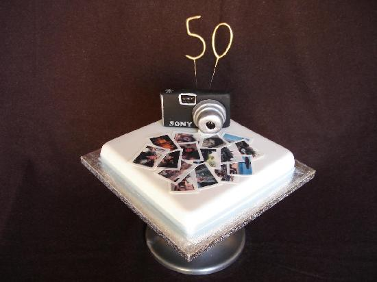 Hotel Ter Duinen: My 50th birthday cake!