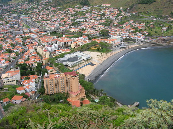Machico, Portugal: From viepoint above hotel