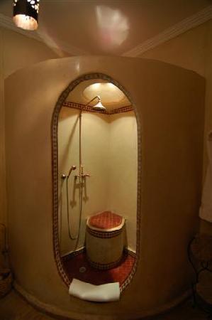 Riad Maipa: baño