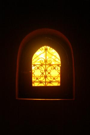 Riad Dar Zaman: Toilet window