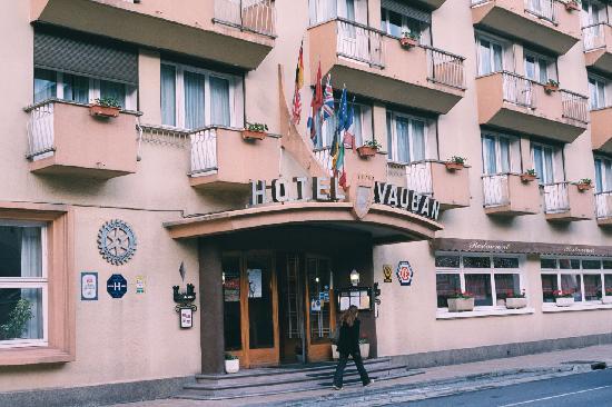 Hotel Vauban: entrance