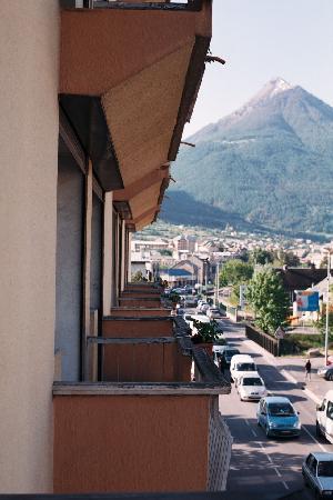 Hotel Vauban: the balconies