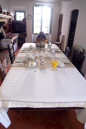 Villa de Lorgues: Cuisine d'époque petit dejeuner