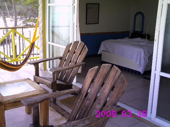 Nueva Vida de Ramiro: noch ein Blick auf die Terrasse und ins Zimmer