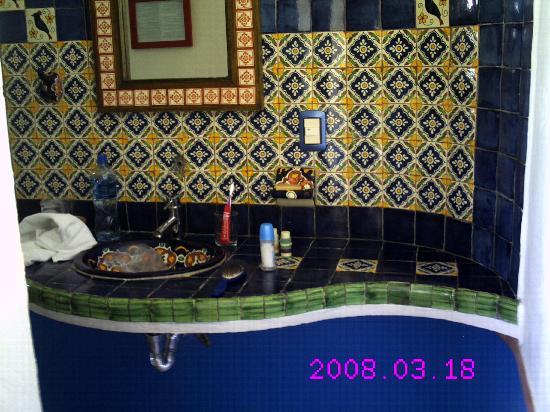 Nueva Vida de Ramiro: Waschbecken im Zimmer