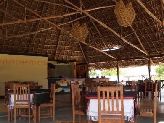 Kibanda : l'interno del ristorante