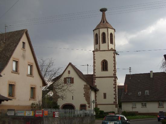 Die Krone: Denzlingen's Stork Tower