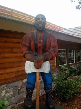 Lumberjack's Restaurant : Your host