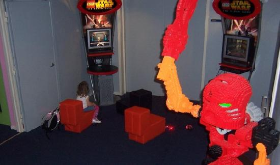Hotel LEGOLAND: Lego playstation play area