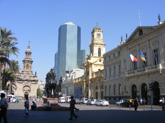 Hotel Diego de Almagro Santiago Centro: main square