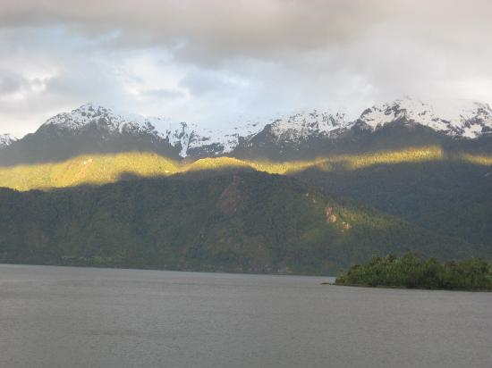 Puyuhuapi Lodge & Spa: View from my room
