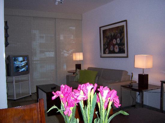 Ipanema Tower: Living Room