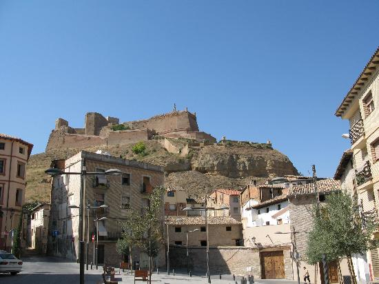 Hotel Vianetto : The Castle above the town