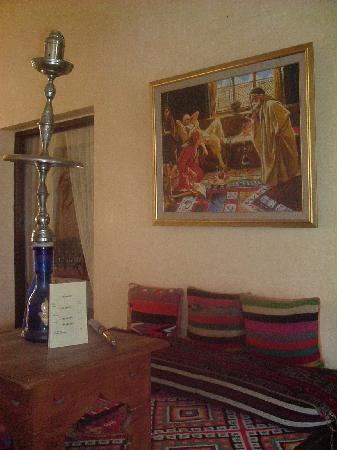 Hotel Almaz: nargila corner in Almaz