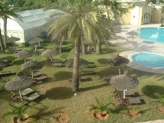 Hotel Almaz: part of the garden