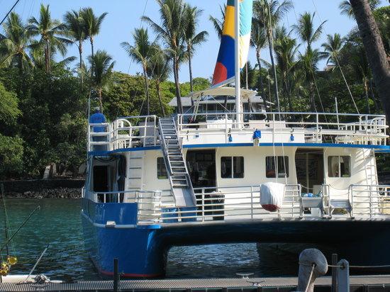 Fair Wind Big Island Ocean Guides: The boat