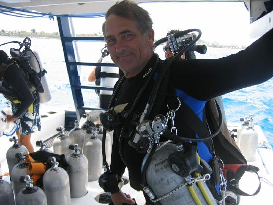 Techs Mex Divers : Oliver, your guide