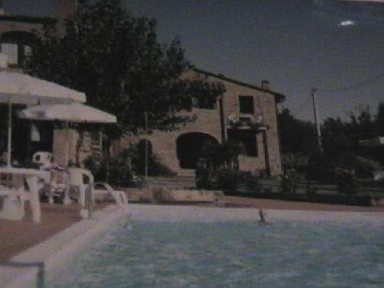 Residence Santa Maria: mon mari dans la piscine