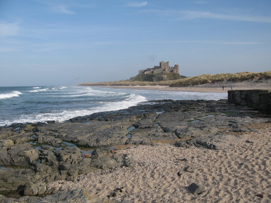 The White Swan Hotel: Great beaches & castles nearby.