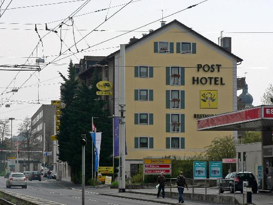 Post hotel w rzburg picture of best western hotel for Wurzburg umgebung hotel