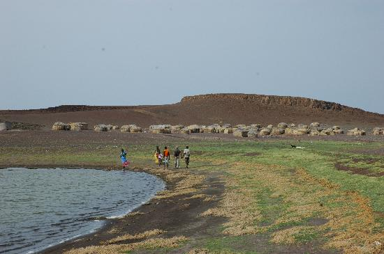 Turkana District, Kenya : Lake Turkana, El Molo