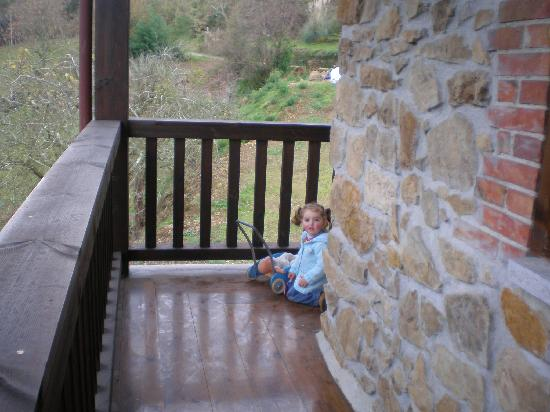 Hotel Palacio de Libardon: Balcón al valle
