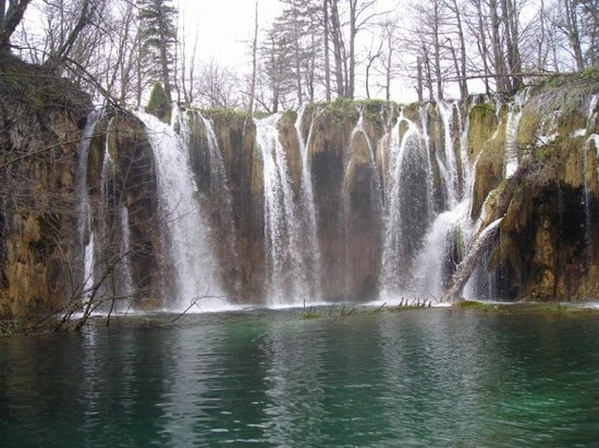 Parc national des lacs de Plitvice, Croatie : waterfalls