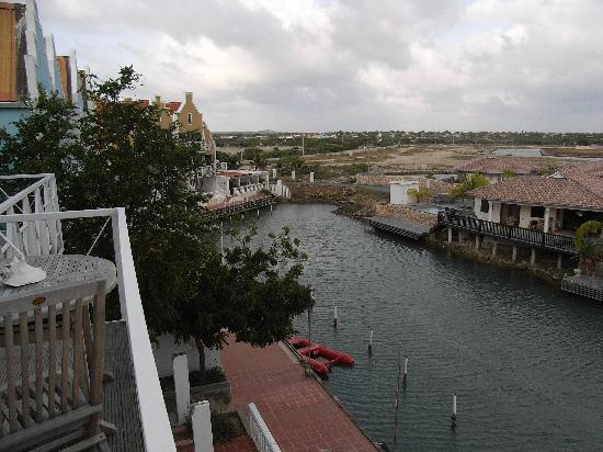 Caribbean Court Bonaire - Breezy Bonaire : Blick vom Balkon
