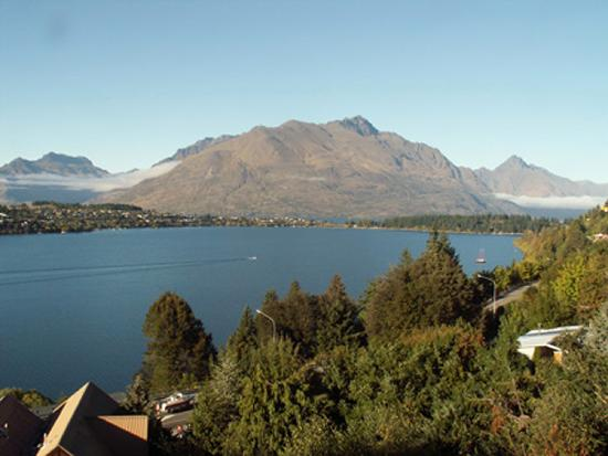 Larch Hill Homestay Bed and Breakfast: Room With a View Larch Hill Homestay Queenstown