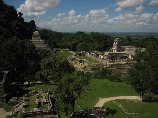Palenque, Messico: View of the Park