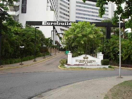 Eurobuilding Hotel and Suites Caracas: Entrance