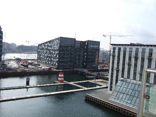 Copenhagen Island Hotel: The view from the window