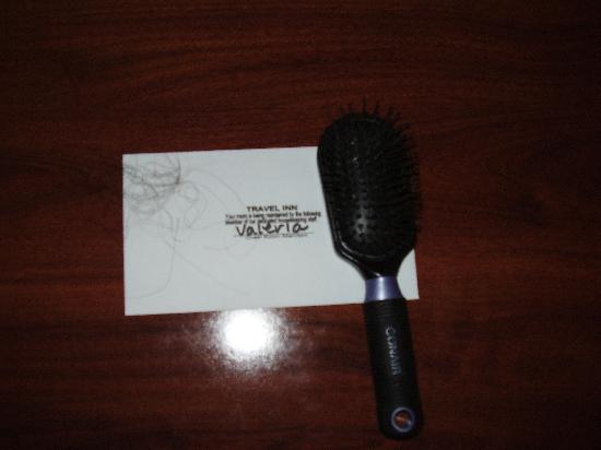Howard Johnson Inn Flagstaff University West: Picture of brush with hair.